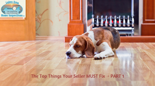 What MUST You Fix Before Listing a House?  PART ONE